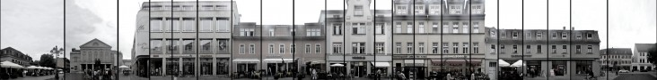 Theaterplatz and Wielandstrasse &bull; Weimar &bull; Germany