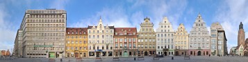 Rynek Westseite • Breslau • Polen