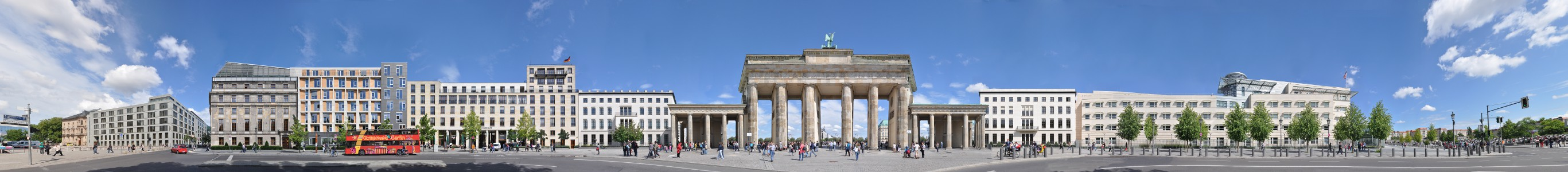 Brandenburg Gate – Ebertstrasse • Berlin • Germany