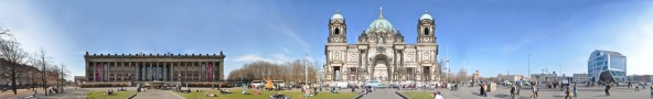 Lustgarten with Berlin Cathedral and Altes Museum &bull; Berlin &bull; Germany
