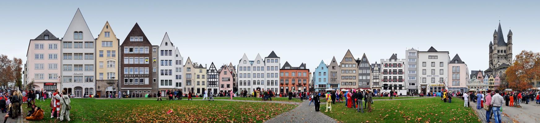 Frankenwerft / Rhine Garden / Carnival • Cologne • Germany