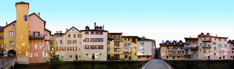 Quai de l'Evêché • Annecy • France