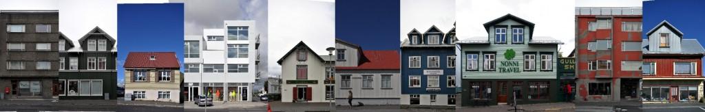 Island Architektur und Fassaden