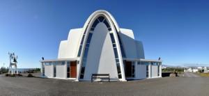Kopavogur Kirche Island Foto