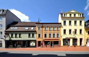 Crimmitschau Silberstrasse Häuser