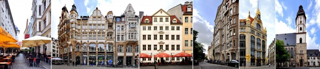 Leipzig walk architecture cityscape