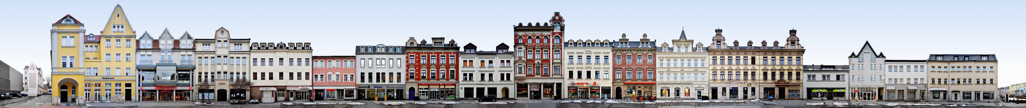 Silberstraße / Markt • Crimmitschau • Deutschland