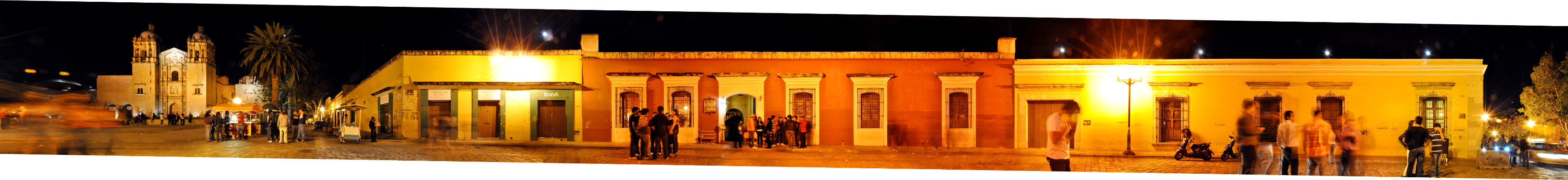 Nachtleben Straßenszene • Oaxaca • Mexiko