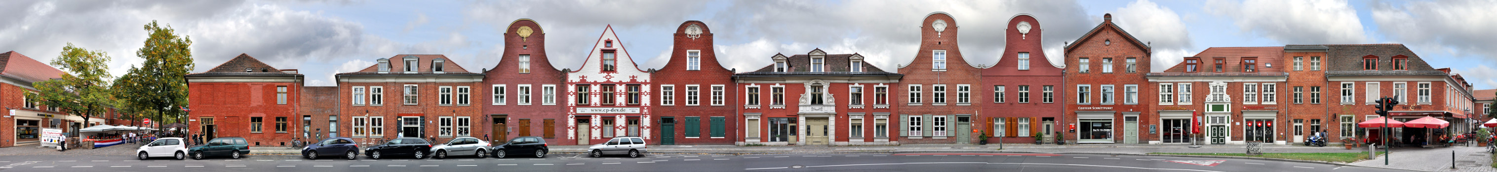 Holländisches Viertel   Kurfürstenstrasse • Potsdam • Deutschland