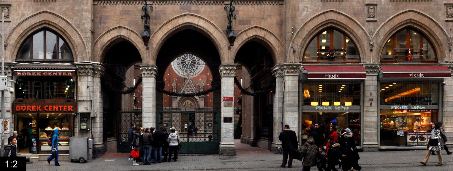 Istiklal Avenue • Istanbul • Turkey
