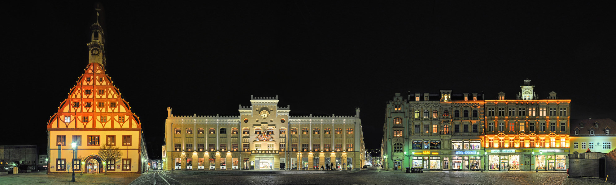 Gewandhaus | Rathaus | Hauptmarkt • Zwickau • Deutschland