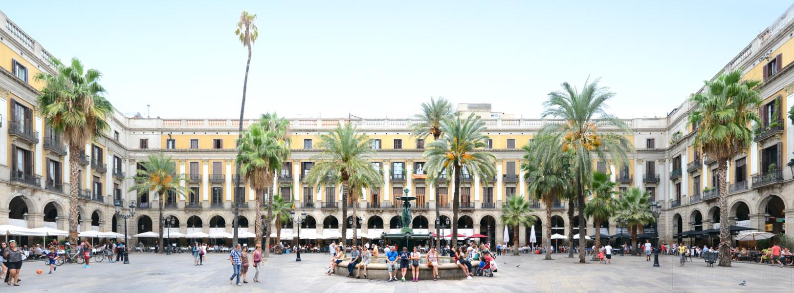 Placa Reial • Barcelona • Spain