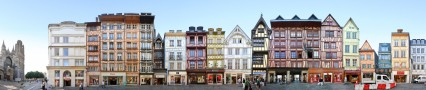 Rue du Gros-Horloge • Rouen • France