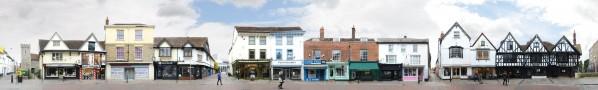St Peter's Street | Alte Weberhäuser • Canterbury • Vereinigtes Königreich