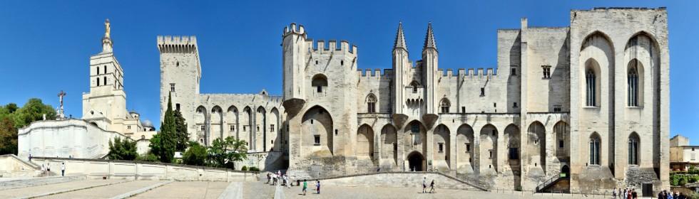 Papstpalast • Avignon • Frankreich