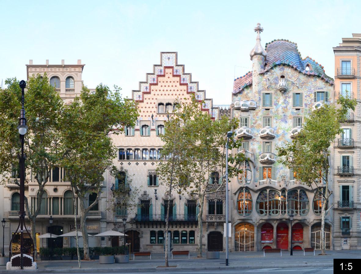 Casa batllo passeig de gracia barcelona spain - Casa de madrid en barcelona ...