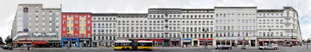 Berlin Street Panorama