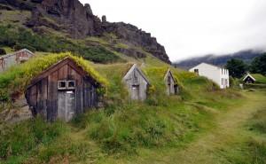 Nupsstigur Island Foto