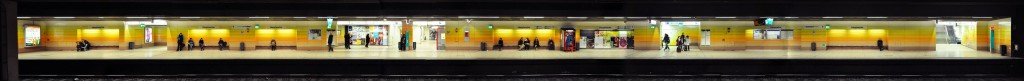 Panorama Frankfurt U-Bahn