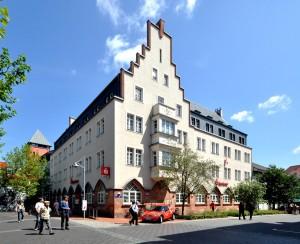 Crimmitschau Sparkasse Architektur