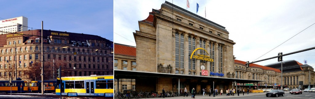 Leipzig Main Station and Astoria