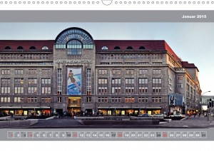 Kudamm Tauentzienstrasse Kalender Berlin 2015