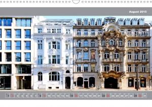 Berlin street view calendar