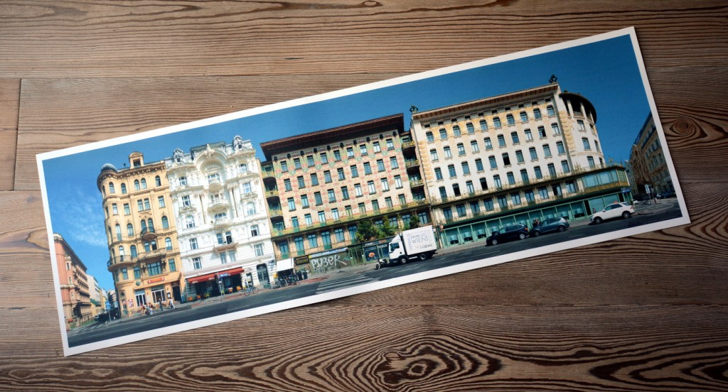 Wien Architektur Kunstdruck Fotografie