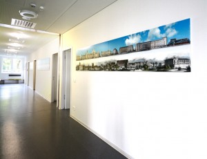 Fine Art Print Panorama office waiting room